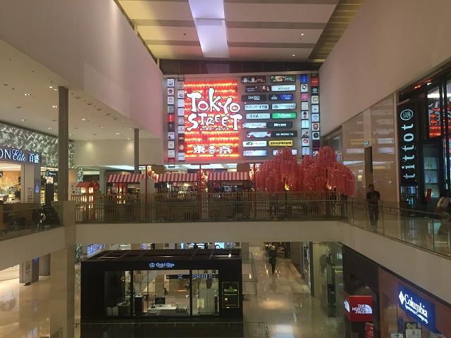 東京ストリートTokyo Street、クアラルンプールのパビリオンで人気の日本の空間