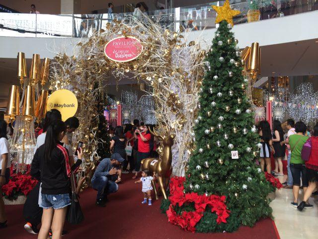 クリスマスは、マレーシアでも祝日として設定されています。